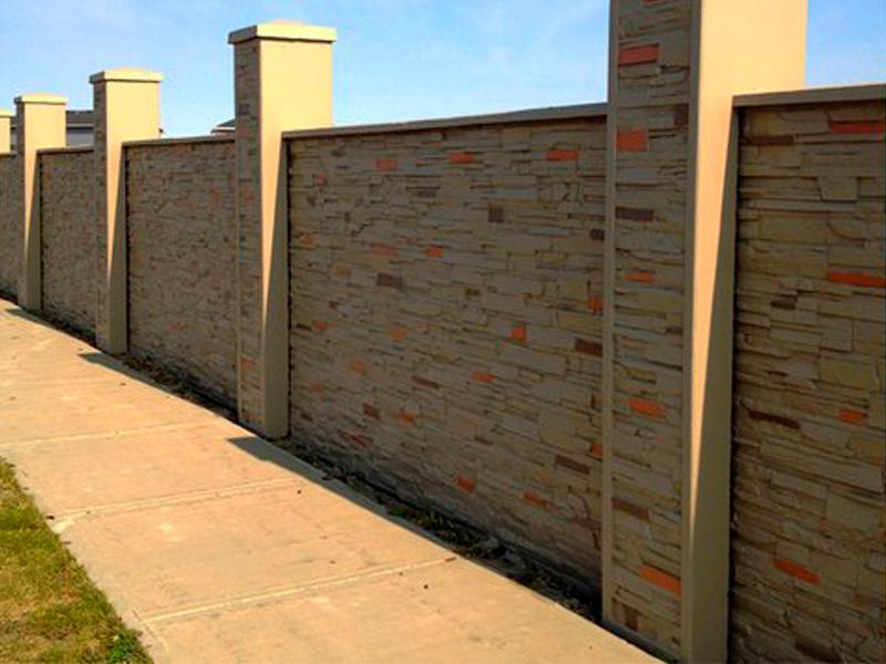 Custom precast texture walls for Precast texture